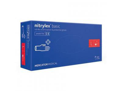 NITRYLEX Rękawiczki Nitrylowe L-Blue