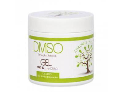 DMSO Dimetylosulfotlenek żel 140g