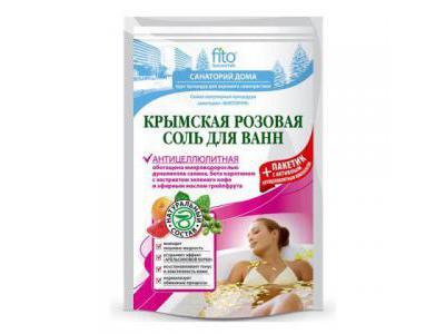 Fitokosmetik Sól krymska różowa antycellulitowa 500 g