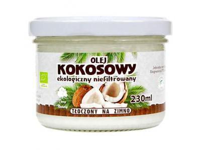 Dary Natury Olej kokosowy Eko 230 ml