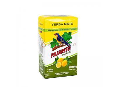 Yerba Mate Pajarito Menta Limon 500g