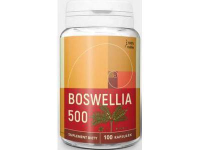 Boswellia 500 mg 100 kapsułek Nanga