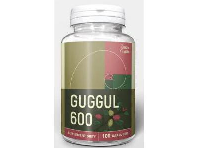 Guggul 600 mg 100 kapsułek NANGA