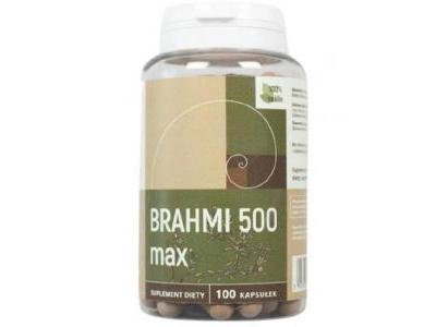Brahmi max 500mg 100 kapsułek