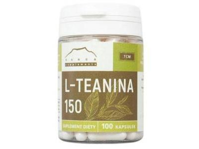 L-teanina 150 mg 100 kapsułek
