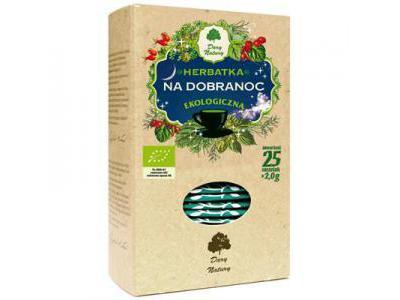 Herbata Na Dobranoc fix BIO 25x2g DARY NATURY
