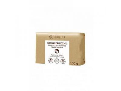 Mydło naturalne szare 100 g BARWA