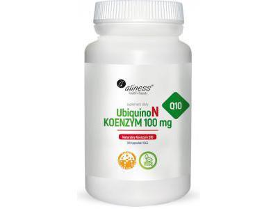 Aliness Naturalny Koenzym Q10 UbiquinoN 100 kaps.