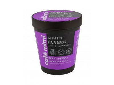 CAFE MIMI Keratynowa maska do włosów 220 ml