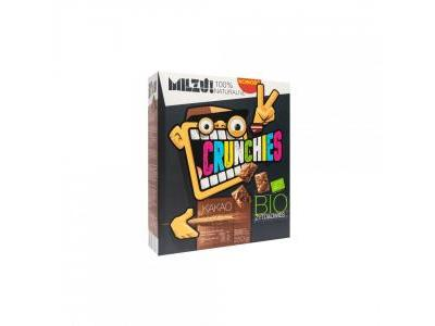 Płatki Crunchies Kakaowe BIO 250g MILZU